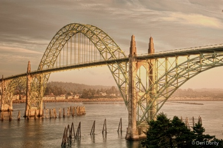 Newport Bridge in HDRI