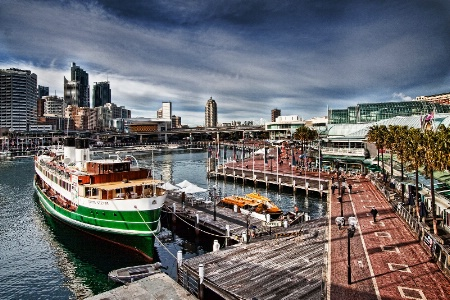 Harbourside.