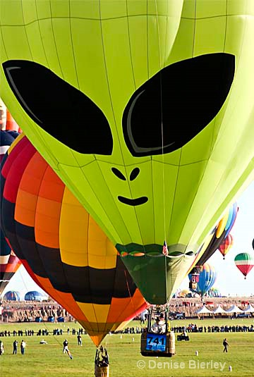 Alien balloon - ID: 8922662 © Denise Bierley