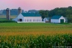 Amish Farm at Dus...