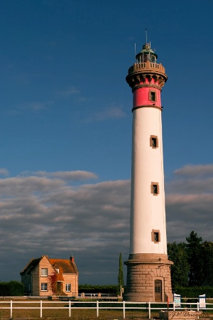 Lighthouse at Ouistreham
