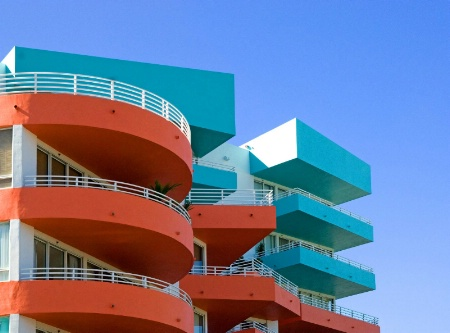 Modern Architecture, South Beach Miami