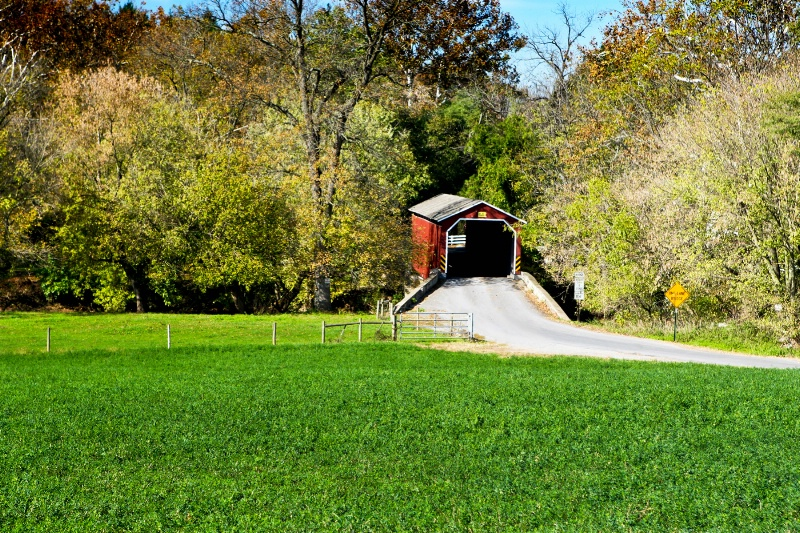 Lancaster County Covered Bridge - ID: 9000453 © Randy Black