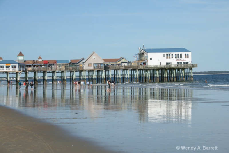the pier at summer s end - ID: 9004321 © Wendy A. Barrett
