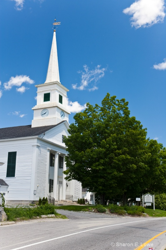 Dublin Community Church, Dublin, NH - ID: 9045633 © Sharon E. Lowe