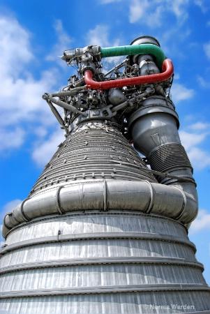 Rocktdyne Rocket Engine