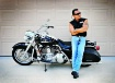 Harley Riding Bad...