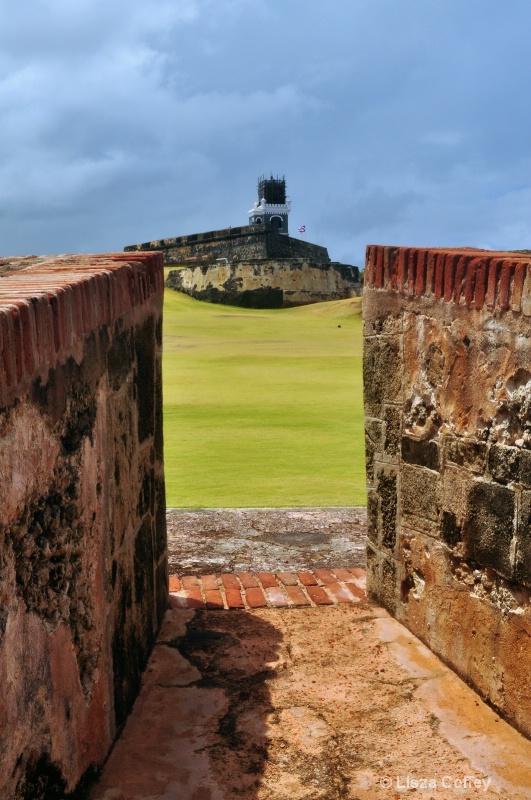 view of the San Juan Fort - ID: 9080599 © Lisza M. Coffey