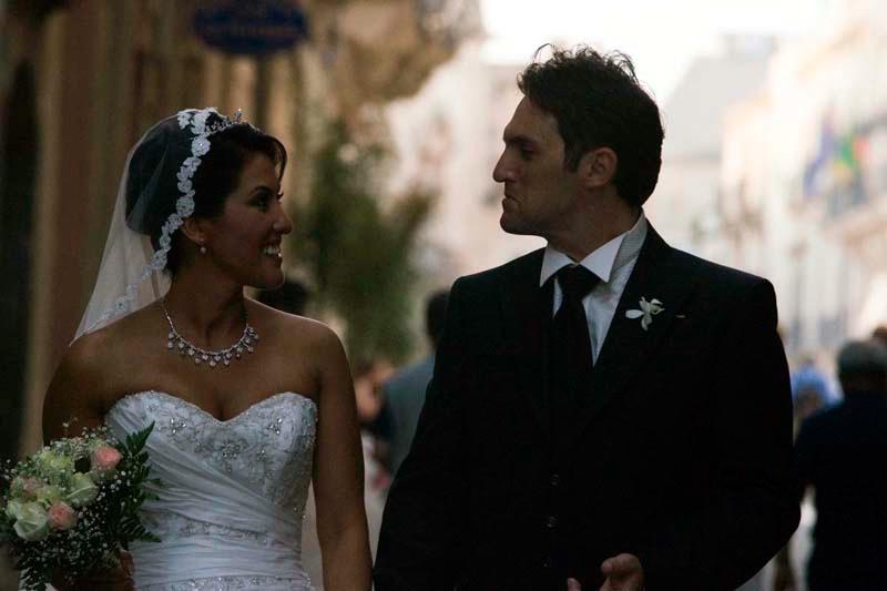 Wedding on the street in Ortigia - Sicily