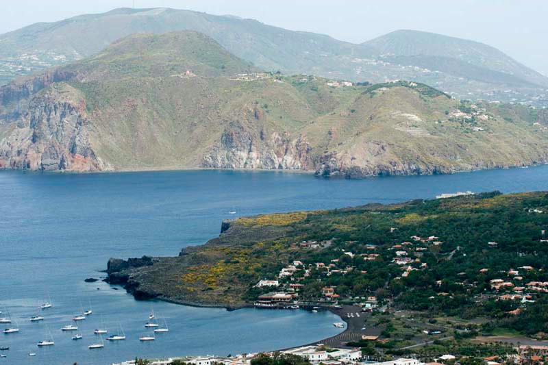 View from the Vulcano - Sicily