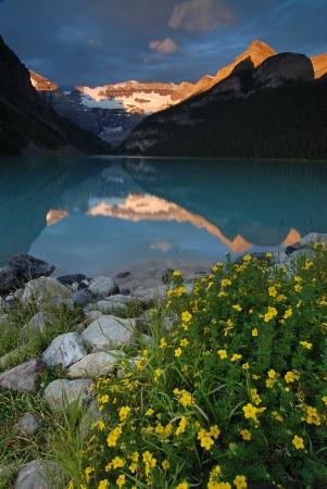 Lake Louise in early morning