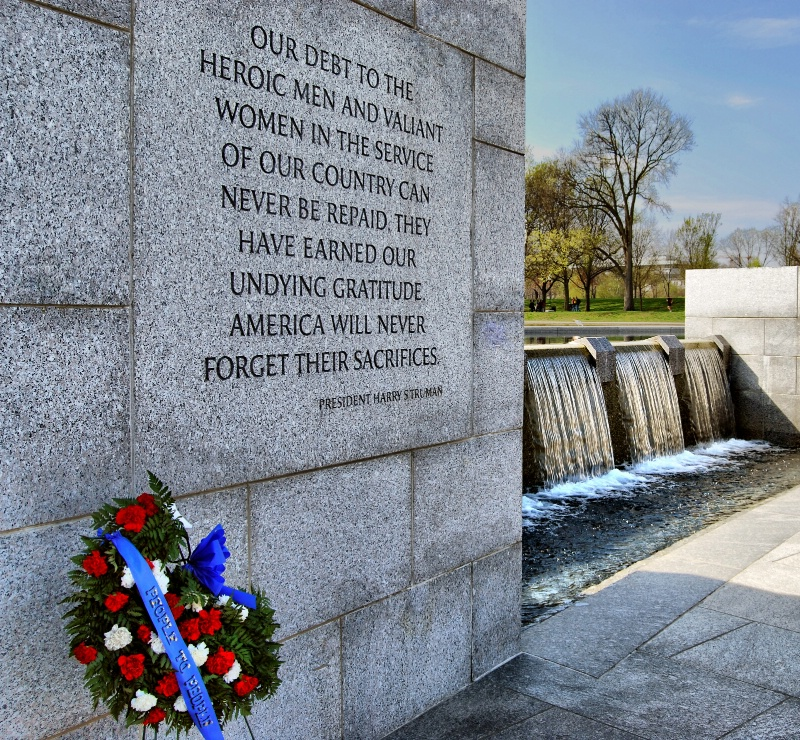 WW II Memorial - ID: 9137505 © Clyde P. Smith
