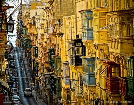 Photography Contest Grand Prize Winner - October 2009: BALCONIES OF MALTA