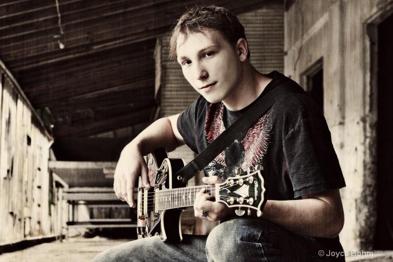 His guitar