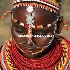 © Cheryl  A. Moseley PhotoID# 9183895: Africa Kenyan Samburu shyness of teenage girl 7629