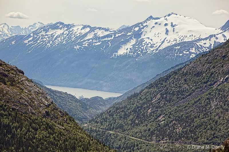 Scenic view from Skagway