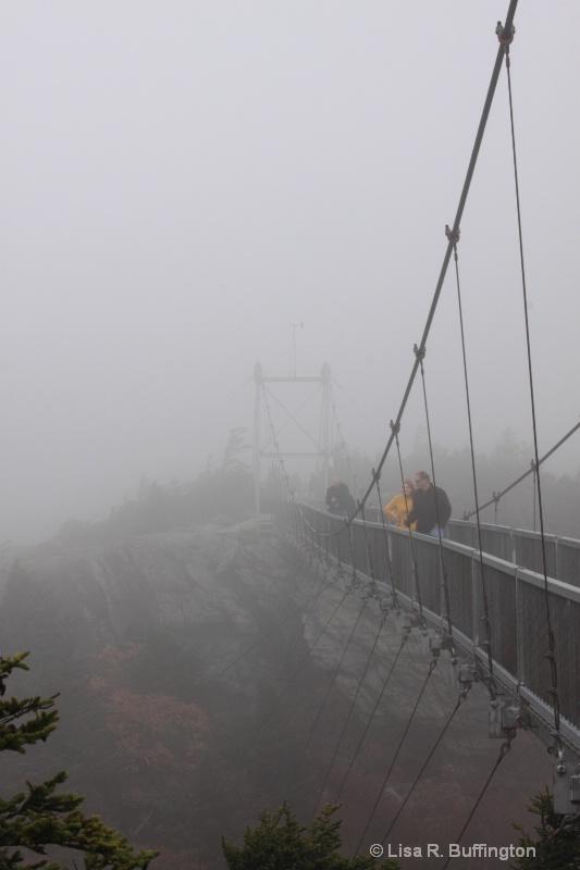 Mile High Swinging Bridge - ID: 9236891 © Lisa R. Buffington