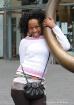 Girl Near Bull Ri...