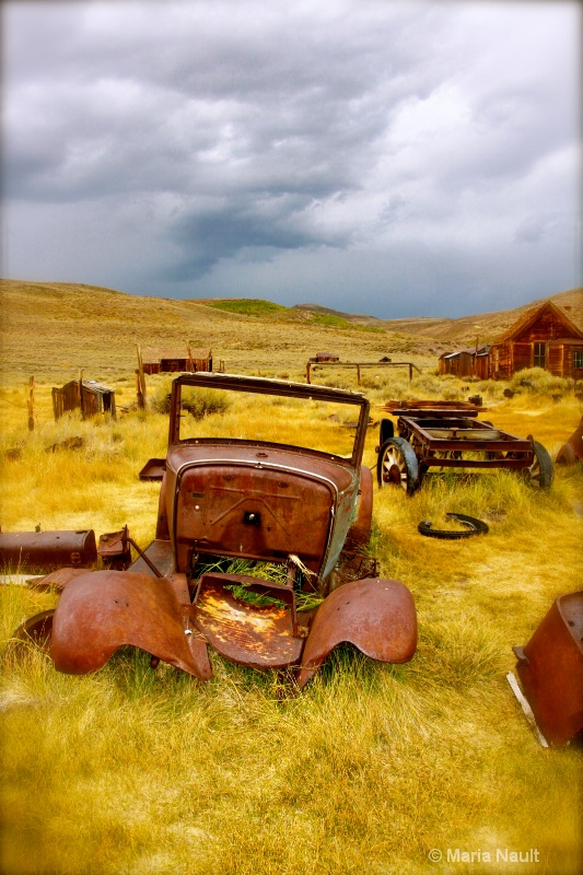 Preserved in Place ~ Bodie Ghost Town  - ID: 9291149 © Simply  Nonna