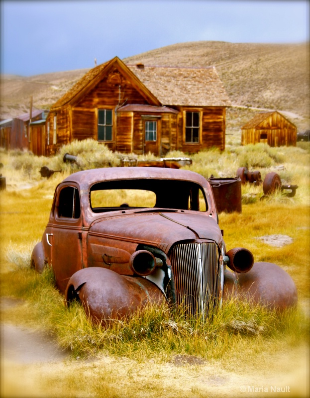 Classic Car of Bodie Ghost Town  - ID: 9291154 © Simply  Nonna
