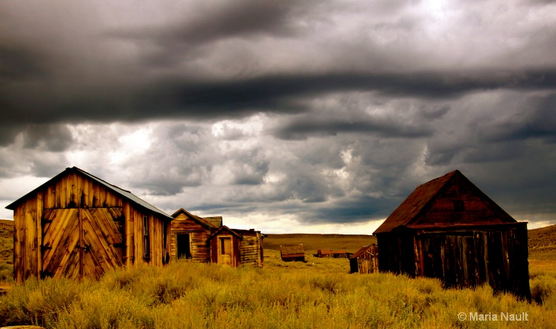 Storms A Coming ~ Bodie Ghost Town  - ID: 9291162 © Simply  Nonna