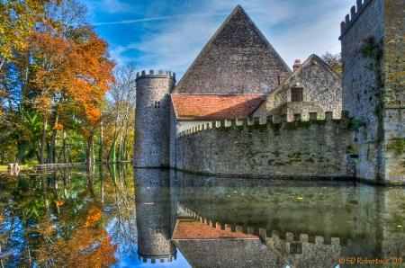 Chateau Vault de Lugny HDR