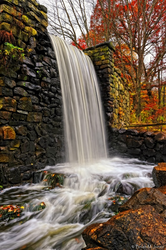 Waterfall at The Old Grist Mill