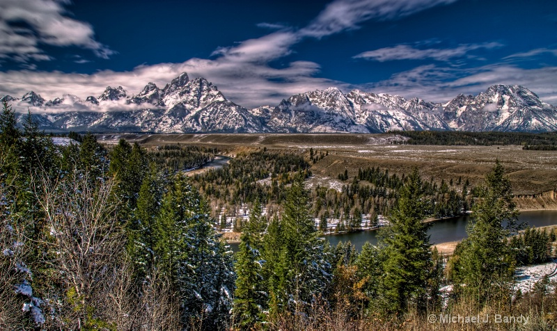 Snake River Overlook after the snow- HDR 1