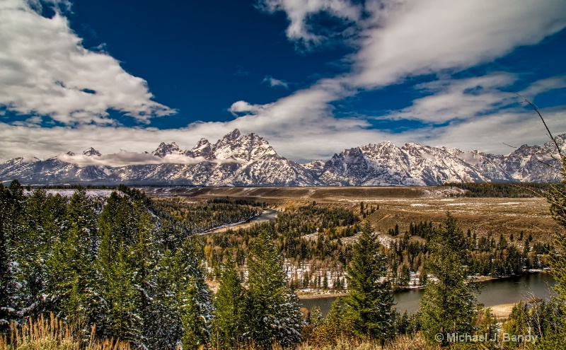 Snake River Overlook after the snow- HDR 2