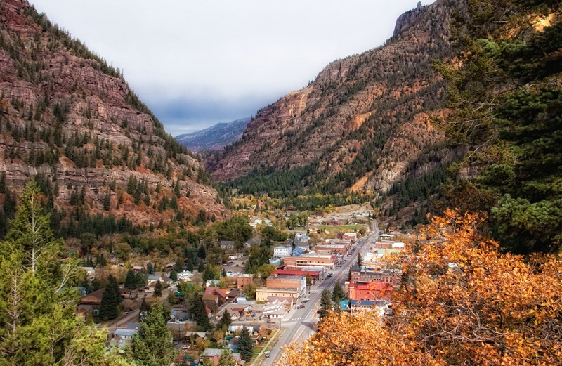 Leaving Ouray