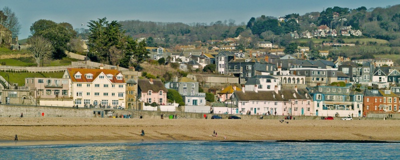 Lyme Regis above Marine Parade - ID: 9389401 © Allan King