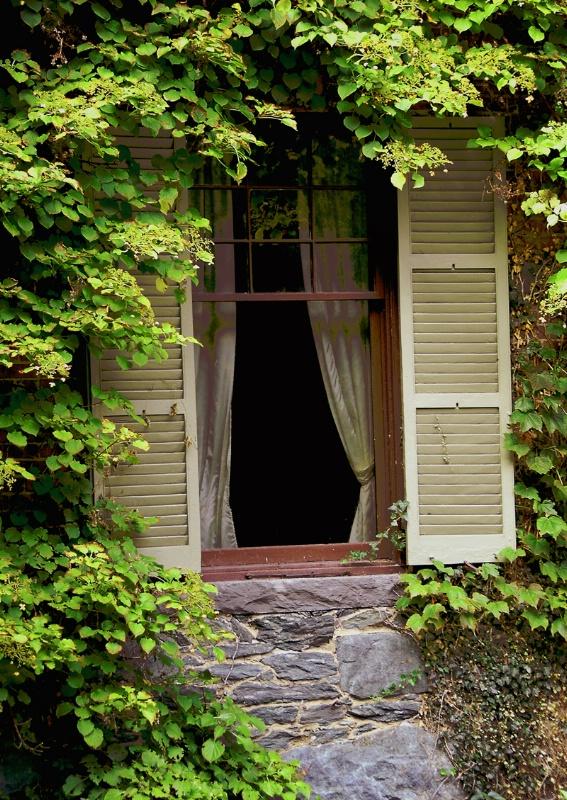Shaker Village Window - ID: 9436099 © Douglas Pignet