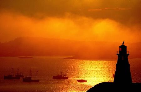Mulholland Point Light-Campobello Isand