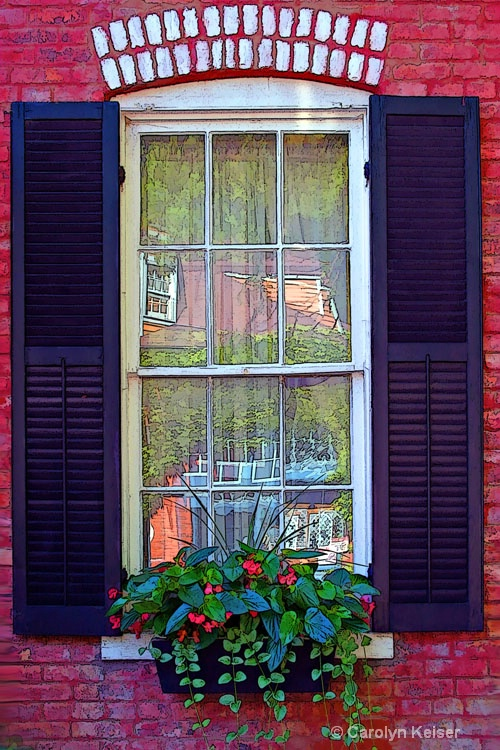 Window on Main - ID: 9480517 © Carolyn Keiser