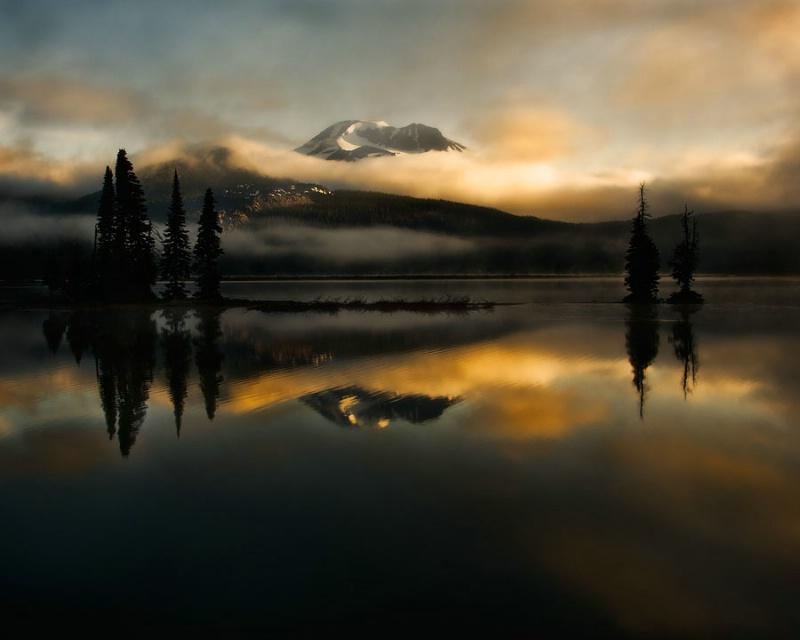 Sparks Lake,Oregon