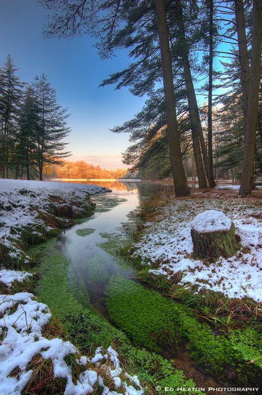 Birdsboro Reservoir in Snow