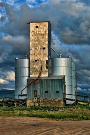 Hill City Grain Elevator HDR