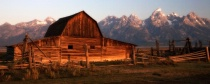 Moulton Barn Sunrise
