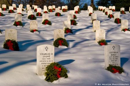 Christmas at Arlington National Cemetery # 5