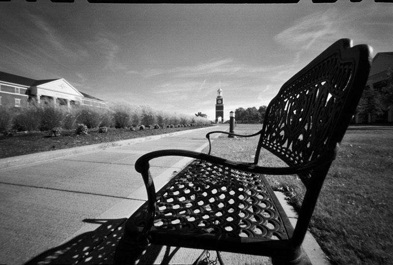 Lonely Campus - ID: 9595571 © Steve Parrott