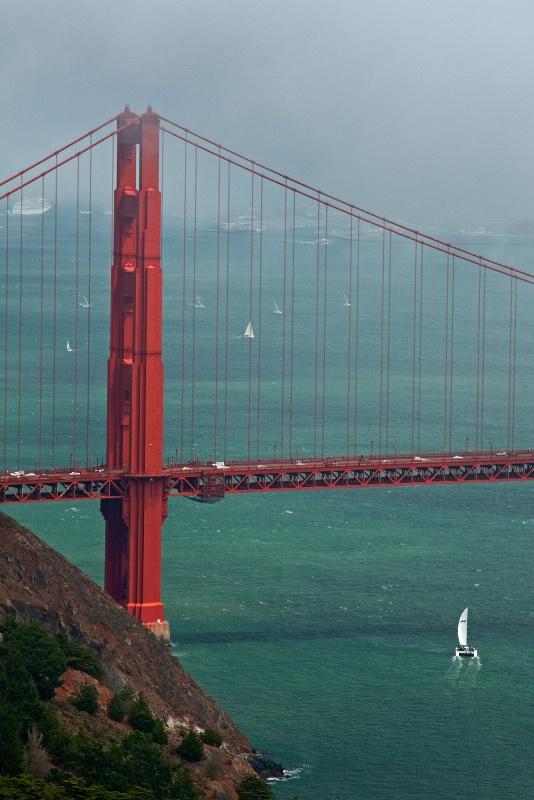 Golden Gate Bridge 7-31-09 - ID: 9596136 © Robert A. Burns