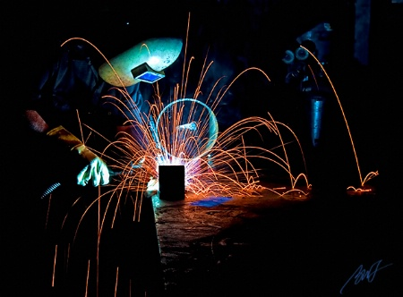 Another from the Welding Shoot