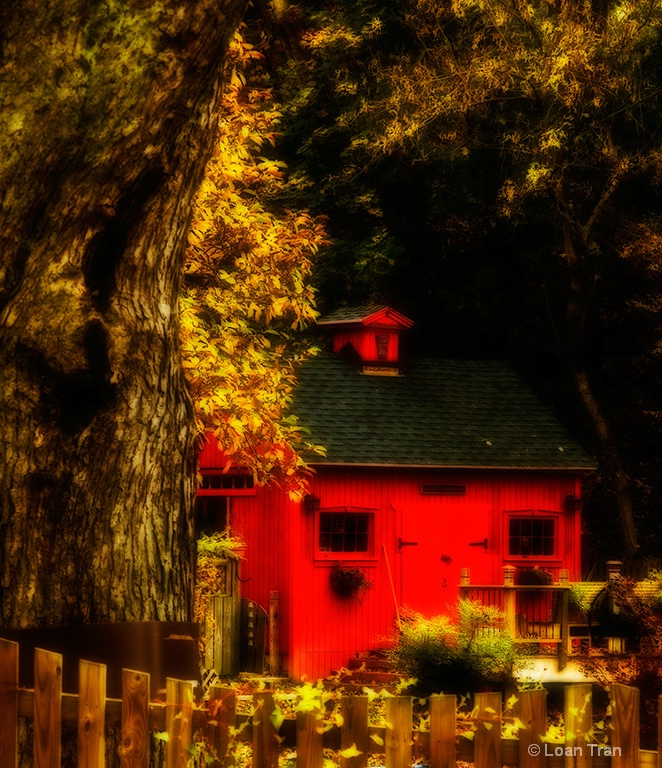 The little red house - ID: 9601524 © Loan Tran