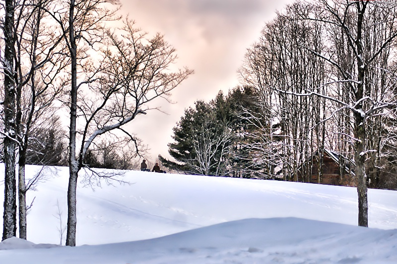 Sledding Hill - ID: 9610862 © Laurie Daily