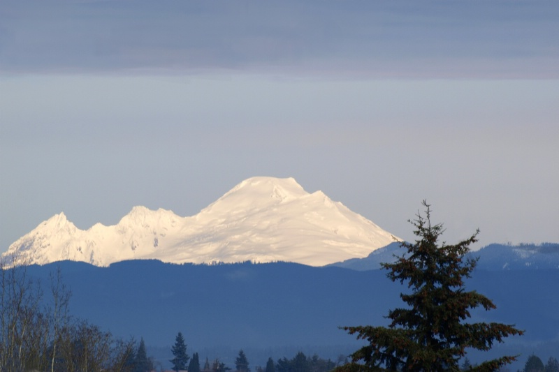 A Morning View Of Mt. Baker
