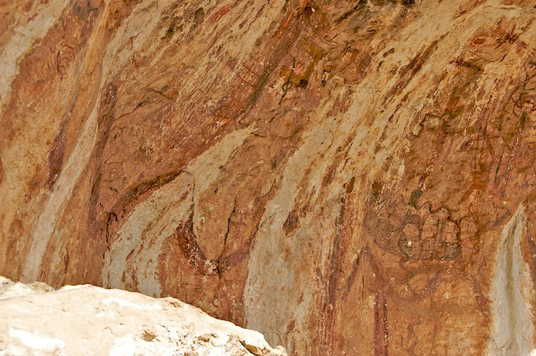 Portion of the pictographs - ID: 9628783 © Emile Abbott