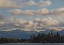 Late Afternoon Lake Placid Scene
