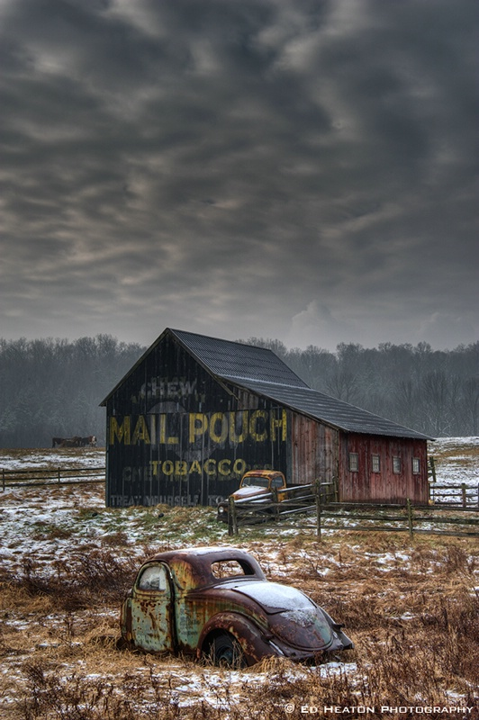 Mail Pouch Barn & Cars