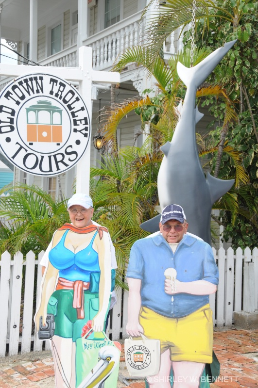JUST TWO CRAZY TOURISTS - ID: 9661930 © SHIRLEY W. BENNETT