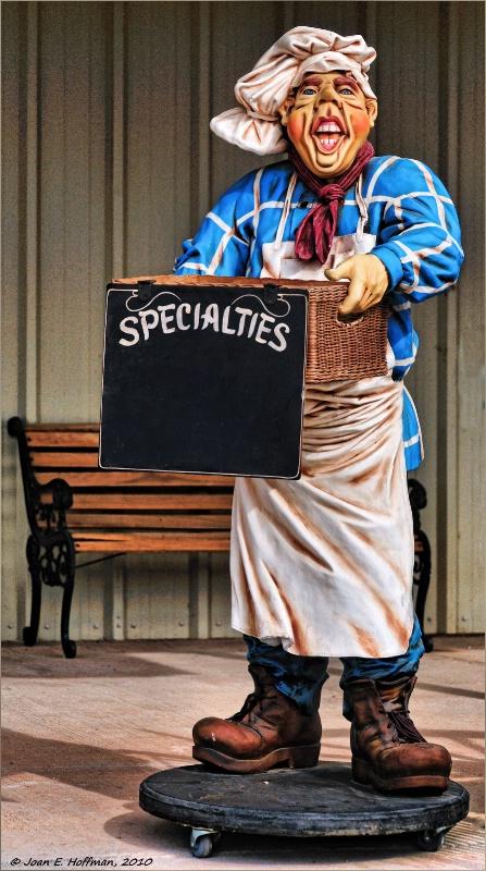 No Specialties Today